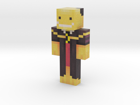 DarkBow_   Minecraft toy in Natural Full Color Sandstone