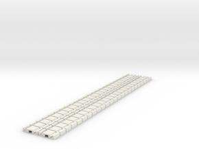 p-9stp-slim-flexi-tram-track-100-x48-1a in White Natural Versatile Plastic