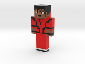 MichaelJackson | Minecraft toy in Natural Full Color Sandstone