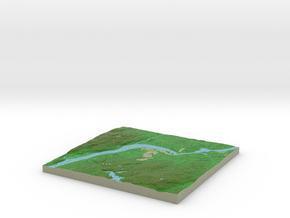 Terrafab generated model Fri Nov 30 2018 23:59:01  in Natural Full Color Sandstone