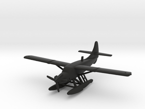 de Havilland Canada DHC-3-T Turbo-Otter Seaplane in Black Natural Versatile Plastic