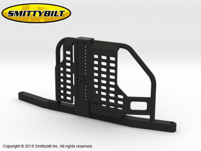 BR10021 Smittybilt Atlas rear rack in Black Natural Versatile Plastic
