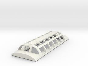 Dome for Via Rail - Skyliner & Parkcar in White Natural Versatile Plastic