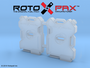 BR10016 RotopaX 2 Gal fuel pack 2pk in Smooth Fine Detail Plastic