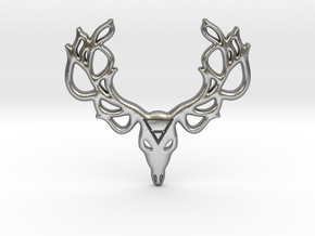Mythological Elements - Leshy (Earth) in Natural Silver