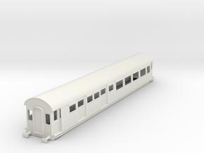 o-43-gcr-barnum-open-3rd-saloon-brake-coach in White Natural Versatile Plastic