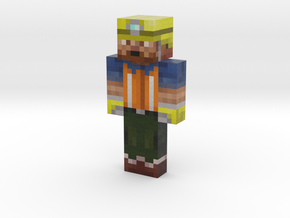 Daddyfatflab | Minecraft toy in Natural Full Color Sandstone