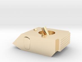 Vixen Small Grav Mortar 1:64 25mm in 14K Yellow Gold