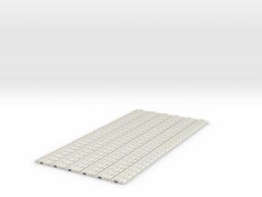 p-9stxs-slim-flexi-tram-track-100-x144-1a in White Natural Versatile Plastic