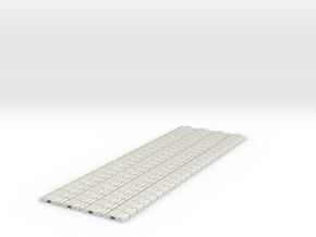 p-9stxs-slim-flexi-tram-track-100-x96-1a in White Natural Versatile Plastic