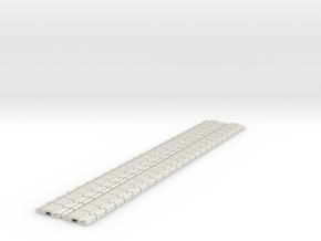 p-9stxs-slim-flexi-tram-track-100-x48-1a in White Natural Versatile Plastic