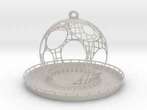 Birdfeeder in Natural Full Color Sandstone