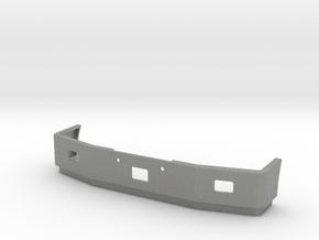 Peterbilt 377SBA Front Bumper in Gray Professional Plastic