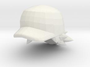Custom Ash Inspired Hat for Lego in White Natural Versatile Plastic