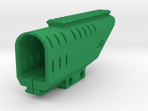 Beretta PX4 Storm RIS Top and Bottom Rail in Green Processed Versatile Plastic