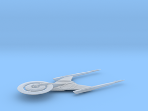 Crossfield class / 4.5cm - 1.77in in Smooth Fine Detail Plastic