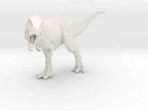 Tyrannosaurus Rex 1/72 DeCoster in White Premium Versatile Plastic