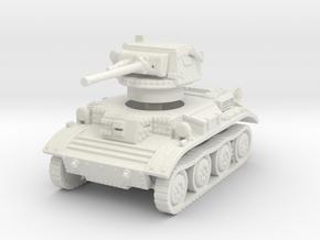 Tetrarch tank scale 1/87 in White Natural Versatile Plastic