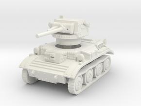 Tetrarch tank scale 1/72 in White Natural Versatile Plastic