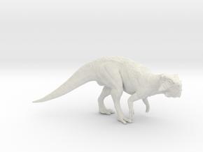 Psittacosaurus 1/12 - DeCoster in White Premium Versatile Plastic