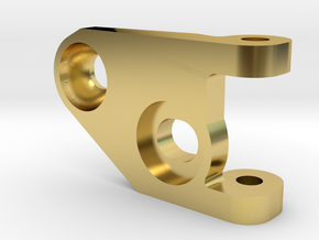 MC3 Wide Front End Stability Kit- Lower Left Arm in Polished Brass