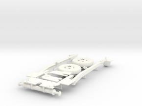 101 HOWITZER PART 2  in White Processed Versatile Plastic