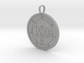 Malphas Medallion in Aluminum