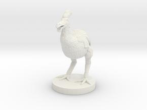 Gargwa Standing (Large Beast) in White Natural Versatile Plastic