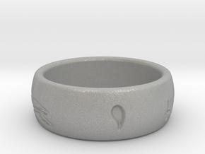 Free Spirit Ring in Aluminum: 2 / 41.5
