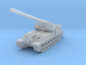 T93 SPG fire pos.   1:144 in Smooth Fine Detail Plastic
