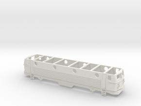 ÖBB 1144 Gehäuse Scale TT in White Natural Versatile Plastic