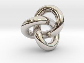 B&G Prime 3.1 in Rhodium Plated Brass