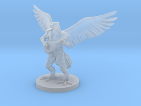 Aarakocra Bard 2 in Smooth Fine Detail Plastic