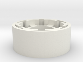 Dark Stator in White Natural Versatile Plastic