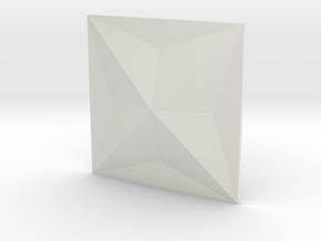 3d tile_2_B in White Natural Versatile Plastic