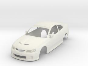 1:24 Holden Monaro CV8R in White Natural Versatile Plastic