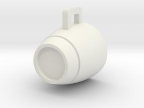 A mug that won't leak in White Natural Versatile Plastic: Small