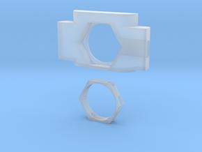 Anticondensa Billet Box Rev4 AFCEXAGON in Smooth Fine Detail Plastic