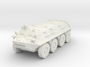 BTR 60 scale 1/87 in White Natural Versatile Plastic