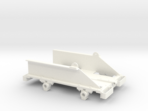 Ruston Bucyrus Tipper Chassis (SM32) in White Processed Versatile Plastic