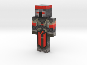 Denis Skin | Minecraft toy in Natural Full Color Sandstone