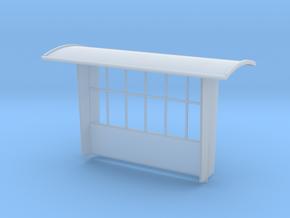 abri spoor 0 in Smooth Fine Detail Plastic