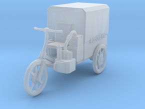 HO Scale Ice Cream Mobile in Smooth Fine Detail Plastic