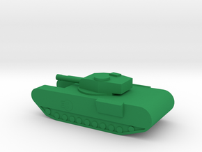 Churchill MKVII in Green Processed Versatile Plastic