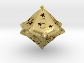 D10 Balanced - Constellations in Natural Brass