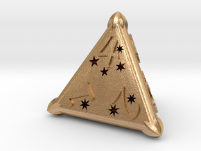 D4 Balanced - Constellations in Natural Bronze
