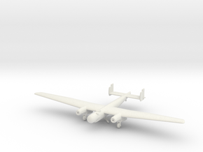 1/144 Junkers EF.61 high-altitude bomber prototype in White Natural Versatile Plastic