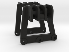 Dual Shock mounts for RC4WD Trail Finder II in Black Natural Versatile Plastic
