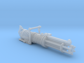 Z-6 Rotary Blaster Cannon in Smooth Fine Detail Plastic