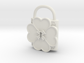Cosplay Humpty Lock in White Natural Versatile Plastic